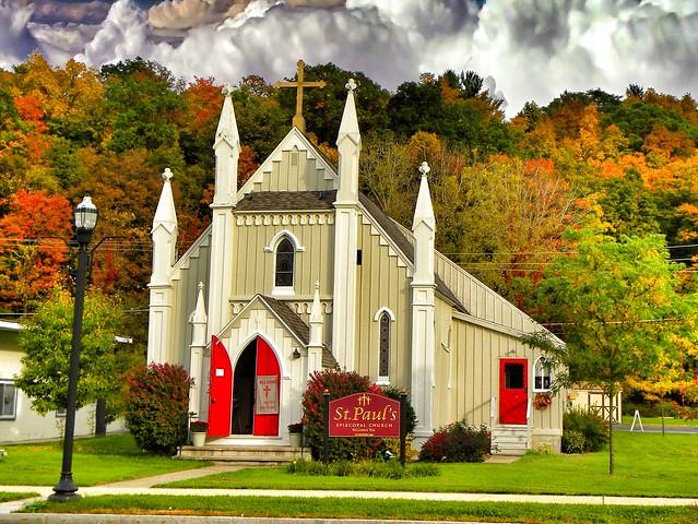 Chittenango New York ~ St Pauls Episcopal Church ~ Historical