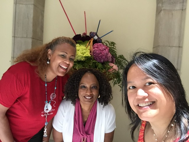 Cheryl Bond and Teresa Hammon with me on WWKIP Day 2016