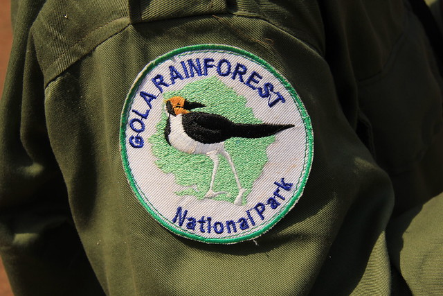 Gola Rainforest NP Badge - Sierra Leone © GFP-RSPB: 2011