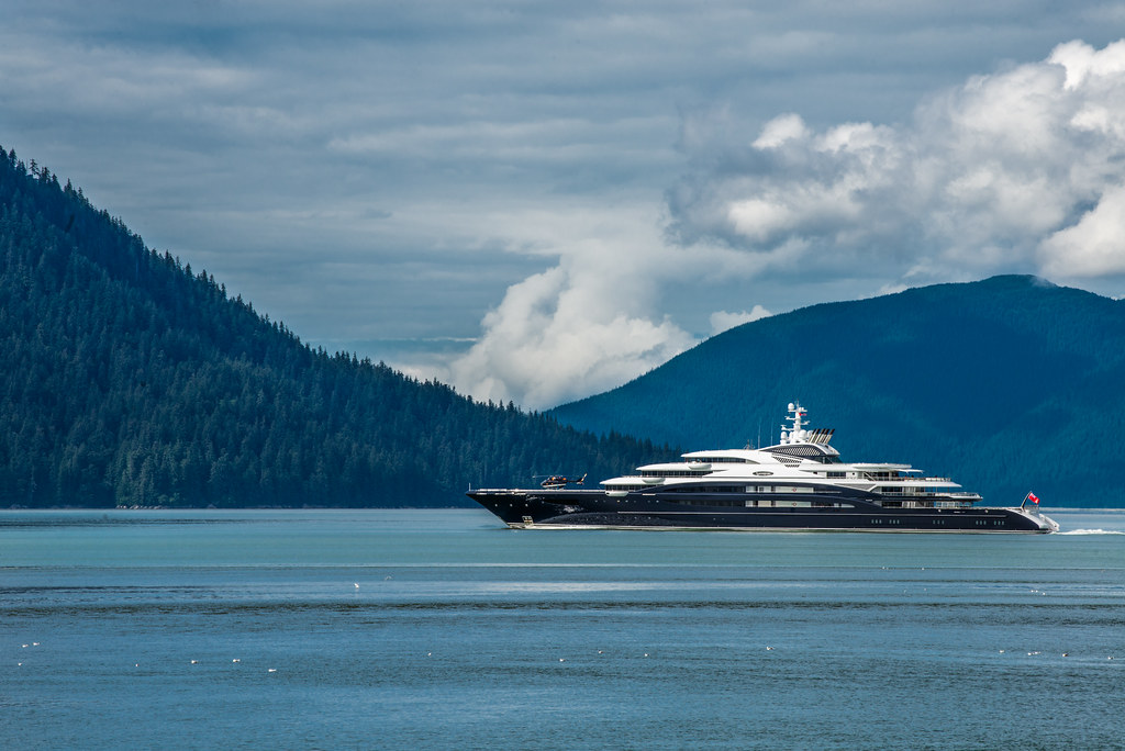 The Serene Yacht Wrangell Alaska We Crossed Paths With Flickr