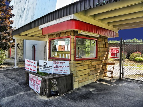 Reynold's Drive-in ~ Ticket Booth ~  Transfer, PA ~  USA | by Onasill ~ Bill Badzo