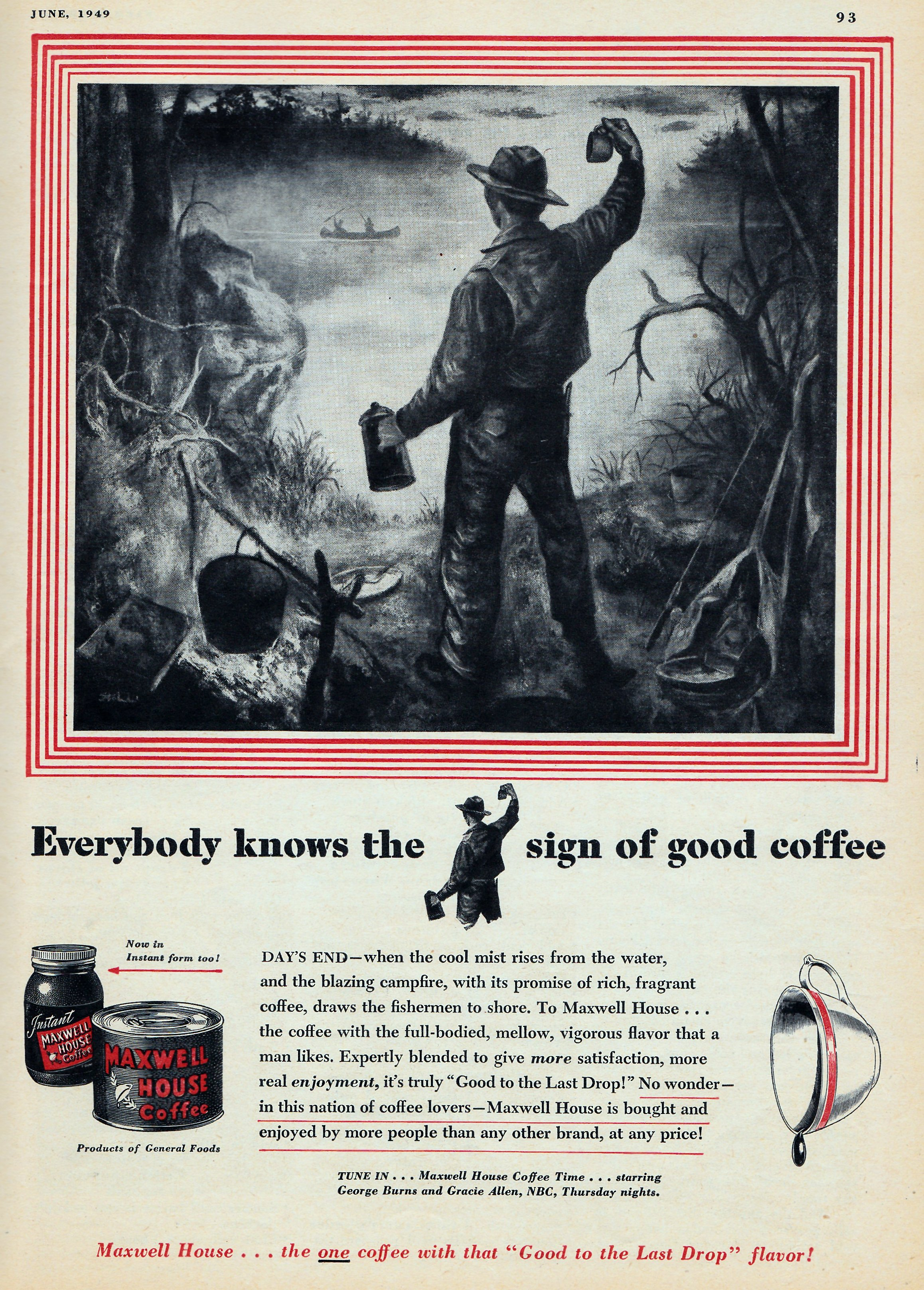 Maxwell House Coffee - June 1949