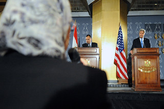 An Egyptian Journalist Questions Secretary Kerry in Cairo | by U.S. Department of State