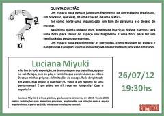 5.ª Questão Luciana Miyuki - 26-07-2012