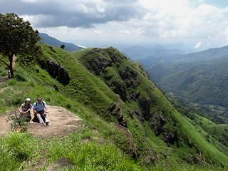 Sri Lanka. Ella. Little Adam's peak.