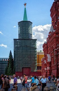 Kremlin, Red Square, Moscow   by Tigra K
