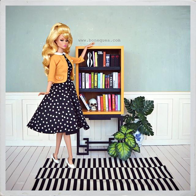 Ma Petite fleur Poppy Parker, Marcia Harrys & Sanglian