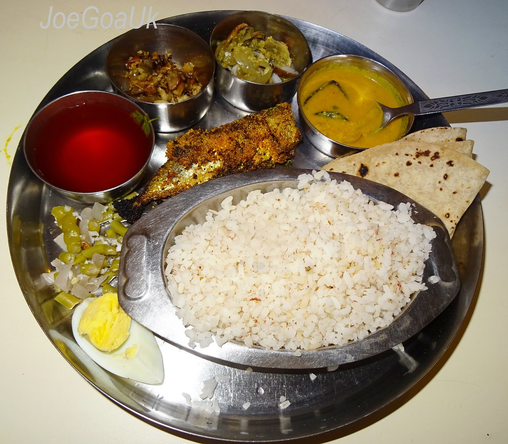 Fish curry rice thali - Sai Restaurant over 25 years old ...