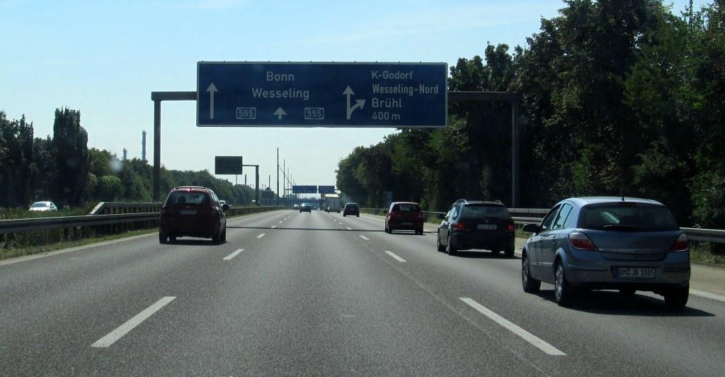 A555 road