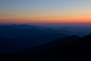 Great Smoky Mountains Sunset | by xoque