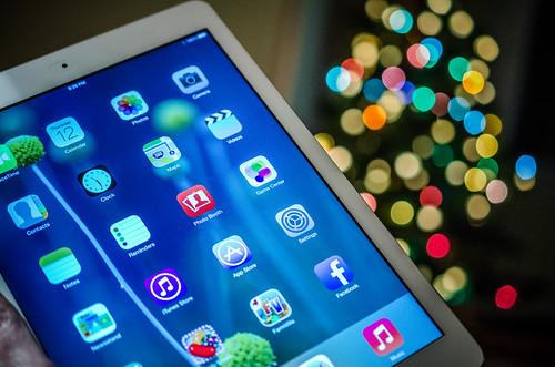 iPad air and bokeh   by m01229