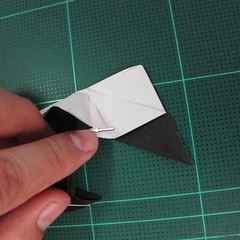 วิธีการพับกระดาษเป็นรูปจิงโจ้ (Origami Kangaroo) 030