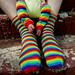 rainbow sox