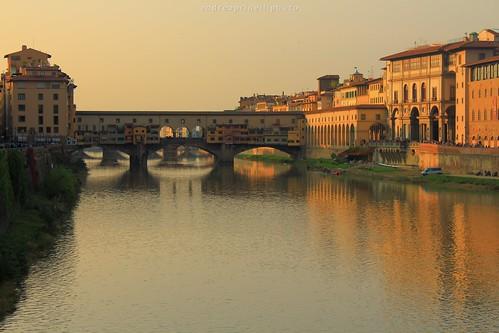 sunset canon tramonto novembre ponte firenze arno toscana autunno colori luce pontevecchio sera andreaprinelliphoto andreaprinelli prinelli