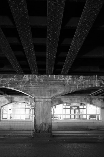 Under the rails   by chrism229