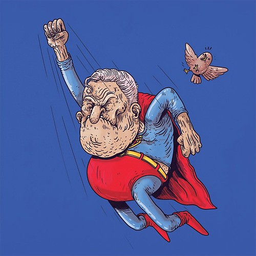 Old Superman #famousoldies | by ALEX SOLIS