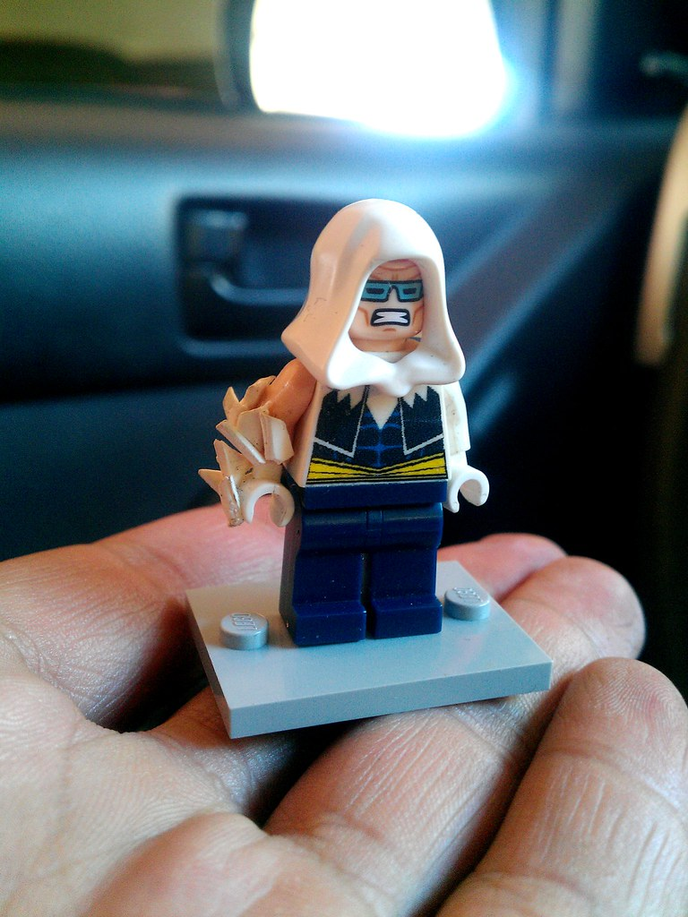New 52 Captain Cold Loving The Official Lego Face They Gav Flickr