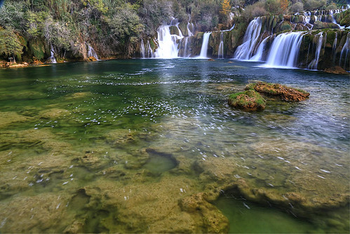 autumn waterfall croatia croatie krka hrvatska dalmatia horvátország