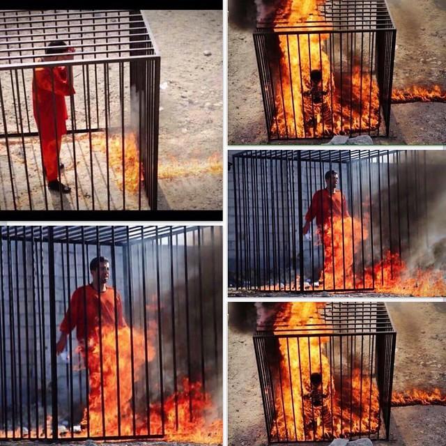 حسبنا الله ونعم الوكيل فيك يا داعش الله يرحمه الطيار Flickr