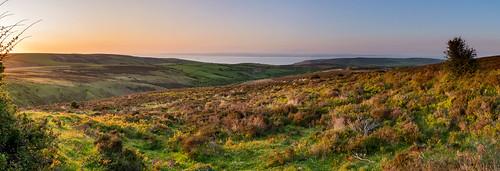 landscape exmoor sunset