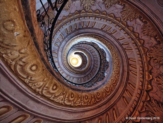 Spiral staircase Melk abbey