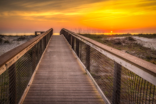 sunrise florida boardwalk hdr fernandinabeach ameliaisland fernandinabeachflorida fortclinchstatepark beachcampground