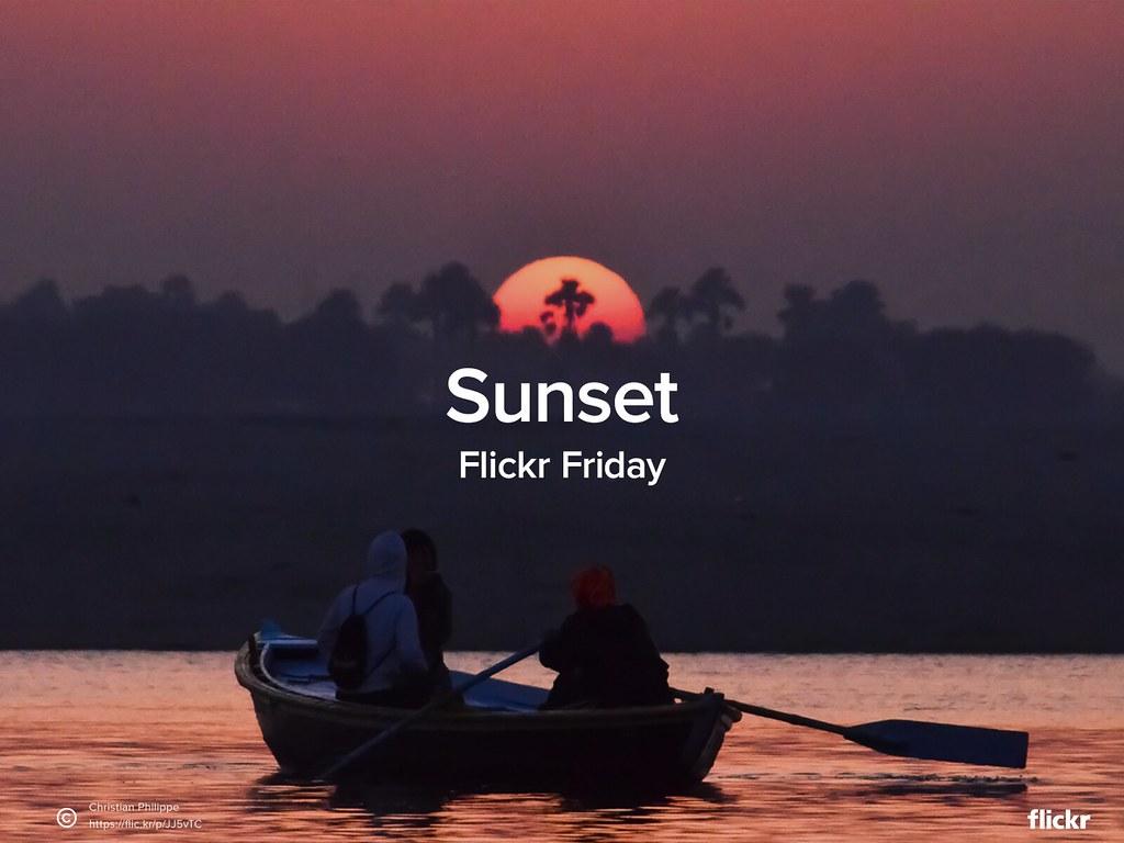 #FlickrFriday - Sunset