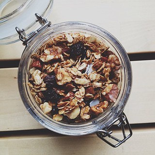 Homemade granola is the best. | by Jared Cunha