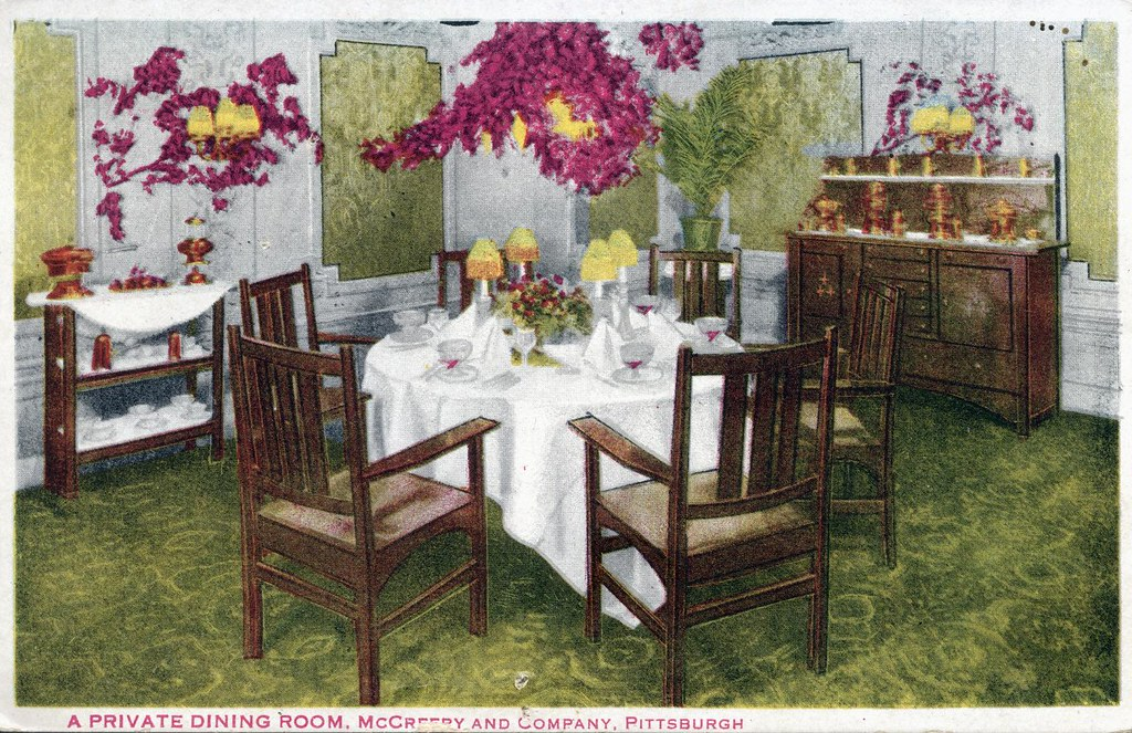Private Dining Room McCreery And Company Department Store ...