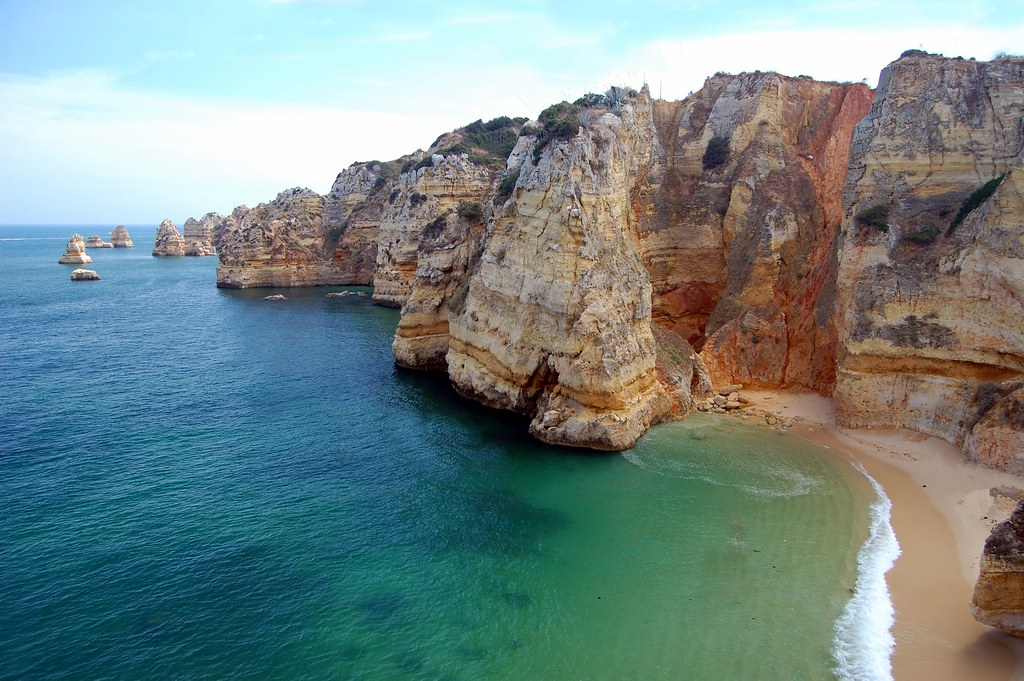 Algarve-Portugal. D Ana Beach