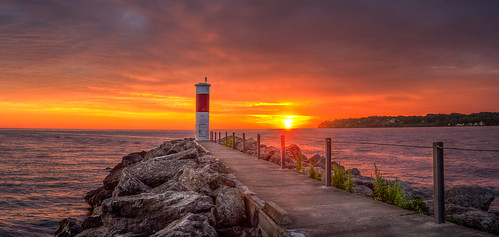 sunrise lakeontario irondequoit irondequoitny