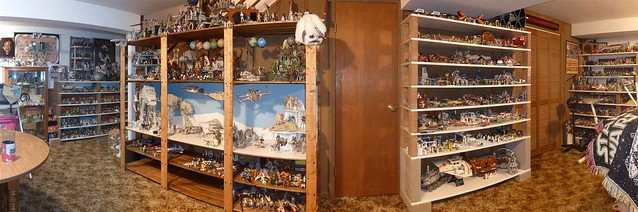 The East Wall of the Star Wars Room