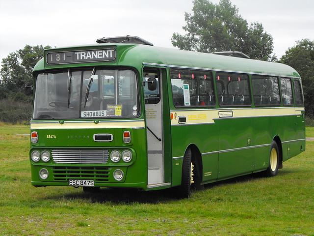 S847A, ECS 847S, Seddon Pennine VII, Alexander Body, 1977 (t.2013)