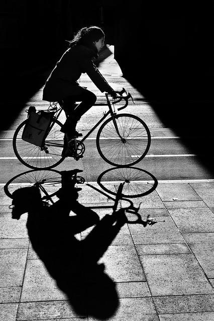 Luz y bicicletas