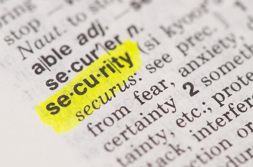 Security in the dictionary | by perspec_photo88