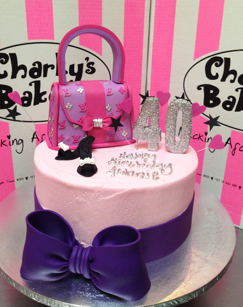 Incredible Ladies Fashion Birthday Cake Charlys Bakery Flickr Personalised Birthday Cards Paralily Jamesorg