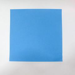 วิธีการตัดกระดาษเป็นห้าเหลี่ยมจากกระดาษสี่เหลี่ยมจตุรัส 014