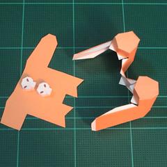 วิธีทำโมเดลกระดาษตุ้กตาคุกกี้รัน คุกกี้ผู้กล้าหาญ แบบที่ 2 (LINE Cookie Run Brave Cookie Papercraft Model Version 2) 010