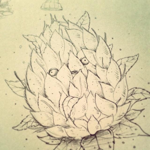 Ceresomonky Sketch Flor Weed Maryjane Mariajuana D Flickr