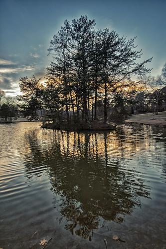 winter sunset lake reflections photography twilight raw poem northcarolina robertfrost gastonia heatherlock dorameulman