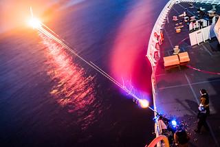 Nighttime machine gun practice | by U.S. Coast Guard