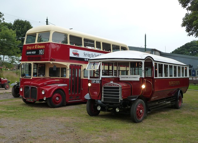 A Routemaster and a SOS QL!