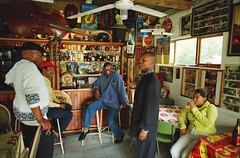 Dumas Falling Leaves Shebeen Gugulethu Cape Flats May 1998 005 Thembile Nhokwana alias Gus alias Duma