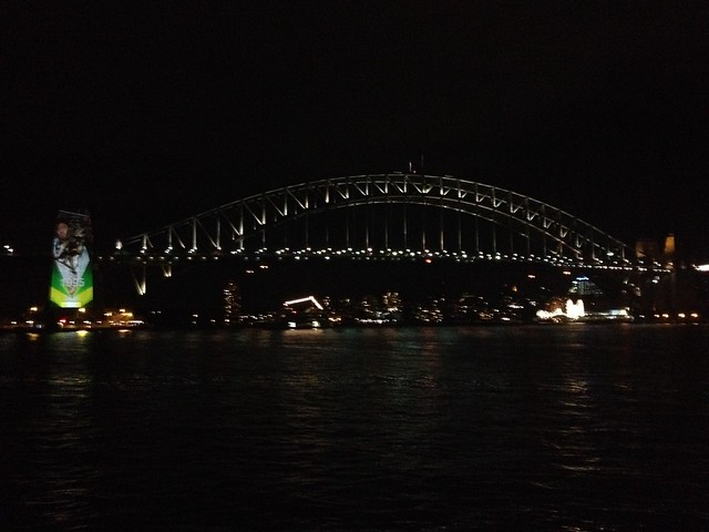 Sydney Harbour Bridge from Sydney Opera House