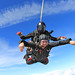Charity Tandem Skydive over Oxfordshire