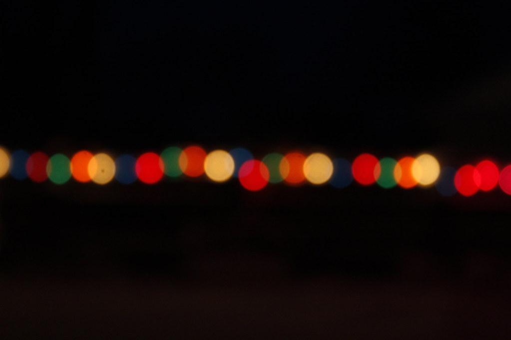 Free Christmas Lights.Christmas Lights Line Bokeh Free Texture Free Bokeh Textur