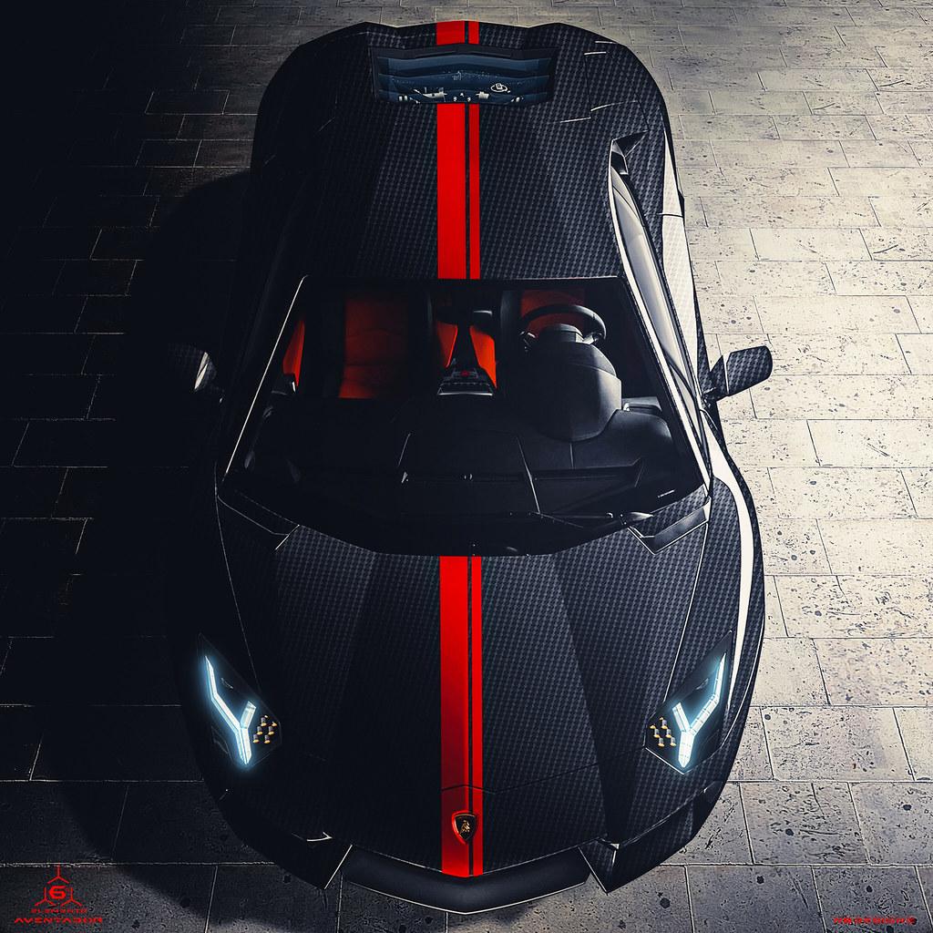 Lamborghini Aventador Sesto Elemento Gran Turismo 6 Nicolas Flickr