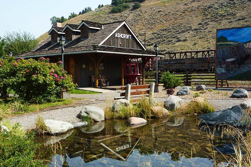 Ashcroft Heritage Park, Ashcroft Thompson Okanagan, British Columbia, Canada.