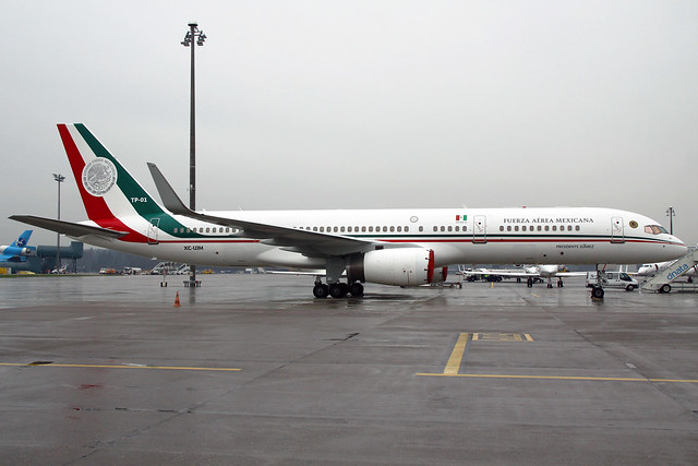 Fuerza Aerea Mexicana Boeing 757-225 TP-01 (XC-UJM)