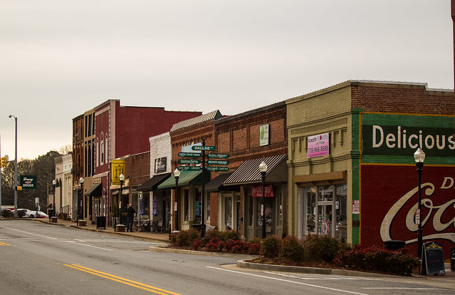 Main Street - heart of a small town